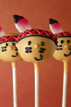 Indians (Cake Pops)