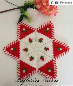 46 diferentes modelos de tricô de fibra que você nunca viu antes Crochet Mat, Crochet Potholders, Emoji, Pot Holders, Christmas Ornaments, Holiday Decor, Lakes, Mountains, Crochet Doilies