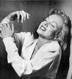 Marilyn 'dancing' by Philippe Halsman, 1949.