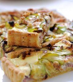 Τάρτα με κολοκύθια, μπέικον και φέτα   Γιάννης Λουκάκος