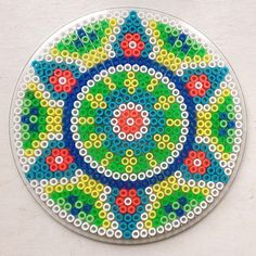 #beads#perler#perleplader#krea#dekoration#decoration#mandala Good morning Sunday...   Iconosquare
