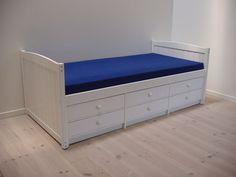 Flexa Säng med 6-lådor vitlack
