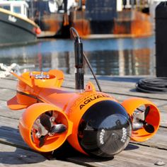 HydroView Underwater HD Video Camera - HydroView is a remote operated underwater vehicle with a high definition video camera and LED lights that employs motion control technology. See the underwater world through live video, capture still shots, upload recorded images to social media sites, and navigate through the water using your iPad, iPhone, Android phone or laptop.