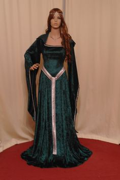 Celtic medieval renaissance St Patricks day by camelotcostumes, $189.00  See their website here:  http://www.etsy.com/shop/camelotcostumes?ref=seller_info