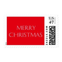 Vintage Red Merry Christmas Postage Stamps       $24.50   by  gryphonstudio  http://www.zazzle.com/vintage_red_merry_christmas_postage_stamps-172132209306363459