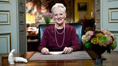 Danish Queen Margrethe's 2012 New Year Speech New Year Speech, Royal Christmas, Queen Margrethe Ii, Crown Princess Mary, Danish, Most Beautiful, Royalty, Lady, Watch