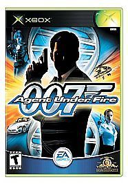 James Bond 007 in Agent Under Fire (Microsoft Xbox, 2002) COMPLETE