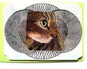 Carte postale et son enveloppe Joli Chat N°3. : Cartes par matt-et-les-petits-cadeaux sur ALittleMarket