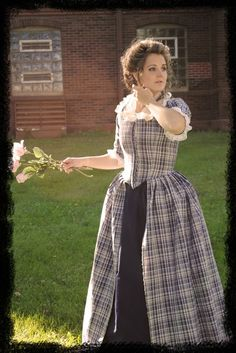 Colonial 18th Century Rococo Dress Gown 1700s House by MattiOnline - StyleSays
