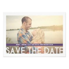 This DealsPurple Strip Photo Save The Date InvitesIn our offer link above you will see