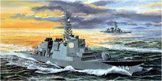 Navy Coast Guard, Navy Ships, Ship Art, Military Art, Battleship, Box Art, Statue Of Liberty, Illustration, Poster
