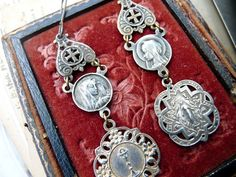 Hey, I found this really awesome Etsy listing at https://www.etsy.com/listing/176579322/antique-virgin-mary-earrings-demiurge