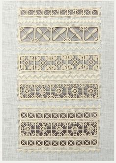Pillow Embroidery, Hardanger Embroidery, Cross Stitch Embroidery, Hand Embroidery, Lace Patterns, Crochet Patterns, Lace Art, Drawn Thread, Point Lace