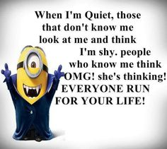 humor bilder For all Minions fans this is your lucky day, we have collected some latest fresh insanely hilarious Collection of Minions memes and Funny picturess Minion Jokes, Minions Quotes, Funny Minion, Minion Face, Extreme Fitness, Funny Jokes, Hilarious, Funny Sarcasm, Funny Sayings