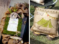 Rustic Backyard Camping Party for Kids // Hostess with the Mostess®