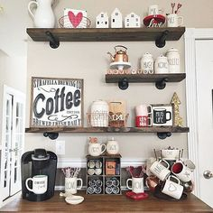 """223 Likes, 9 Comments - Precy Tripoli (@precytripoli) on Instagram: """"Happy Sunday!! Sharing this beautiful #coffeestation with a #ValentinesDay theme!…"""""""