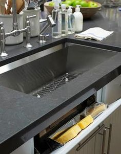 Caesarstone in Raven - Kitchen counters (not island)