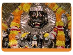 Narasimha Aarti by Astrologer Rahul Kaushal -----------------------------------------------------  ॐ जय नरसिंह हरे,प्रभु जय नरसिंह हरे   स्तंभ फाड़ प्रभु प्रकटे,स्तंभ फाड़ प्रभु प्रकटे जनका ताप हरे    ॐ जय नरसिंह हरे   http://www.pandit.com/narasimha-aarti/