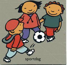 Dagritmekaart:  Sportdag
