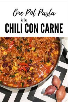One Pot Pasta à la Chili con Carne