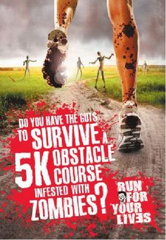 Run For Your Lives: 5K Zombie Obstacle Course Race | Contests