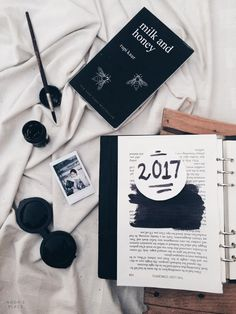 NEW POST: an open letter to 2017   // tumblr black aesthetics pinterest white flatlay artists photography ideas inspiration creative lifestyle blog bloggers noors place blog //