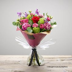 Valentines Darling Jewel Handtied: Booker Flowers and Gifts Romantic Flowers, Beautiful Flowers, I Love You Balloons, Dozen Red Roses, Gin Gifts, Pink Rose Bouquet, Hand Tied Bouquet, Rose Gift, Valentines Flowers