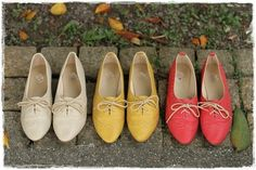 Lace-Up Oxfords