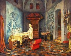 Armonia by Remedios Varo (1956)