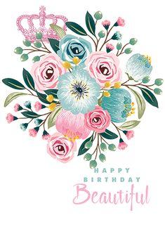 diy birthday gifts for him Happy Birthday My Queen, Birthday Wishes Cake, Happy Birthday Wishes Quotes, Birthday Wishes For Friend, Happy Birthday Beautiful, Birthday Card Sayings, Happy Birthday Girls, Birthday Blessings, Happy Birthday Pictures