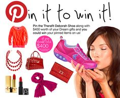 #Therafit #Pintowin #contest   Please visit http://www.therafitshoe.com/index.php?src=forms=Pinterest%20Pin%20It%20To%20Win%20It  to enter!  #therafitgives #Therafit