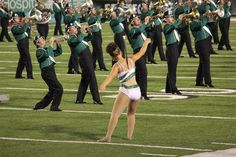 Kylie Marshall University Feature Twirler!  Look no hands! ;)