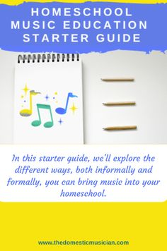 As a homeschooling parent, bringing a well rounded education to your child is important to you.  You want to bring music into your home, but maybe just aren't quite sure how to begin.   It's overwhelming with so many resources available and other parent educators doing so many different things with their kids.   In this starter guide, we'll explore the different ways, both informally and formally, you can bring music into your homeschool.