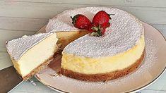 YOĞURTLU CHEESECAKE 🌺BÜTÜN PÜF NOKTALARINI AÇIKLADIM❤️ - YouTube Chesee Cake, No Bake Cake, Lemon Biscuits, Cheesecake Cupcakes, English Food, How To Make Cake, Granola, Cooking Recipes, Pumpkin