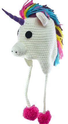 Ganchillo del de sombreros divertidos, sombreros de dibujos animados, sombreros animales, unicorn, envío gratis 5 unids/lote