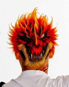 Unbelievable hair tattoos from Japan! | The HairCut Web!