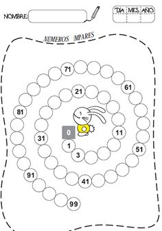 Snapshot image of Number Charts 1-100 Set 1