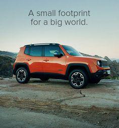 A small footprint For a big world. :-D