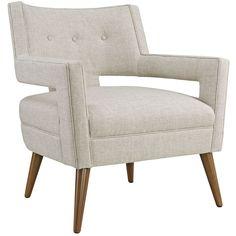 Sheer Fabric Armchair