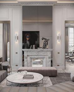 Interior design studio based in Kiev, Ukraine Luxury Rooms, Luxury Decor, Luxury Interior, Interior Architecture, Classic Interior, Interior Ideas, Top Interior Designers, Interior Design Studio, Paris Arrondissement