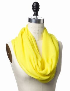 The Limited - Neon Infinity Scarf: $34.90  EEK! So not paying that! its super cute tho!