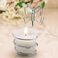 Butterfly Place Card and Candle Holder Favors