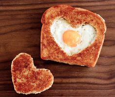 the best breakfast Valentine's Day Eggs