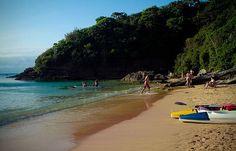 kayaking in João Fernandinho beach - Buzios, Rio de Janeiro