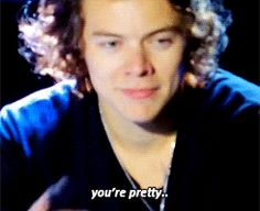 Can you not with the pretty calling and the smirking and the dimples?   28 Times Harry Styles Needed To Not