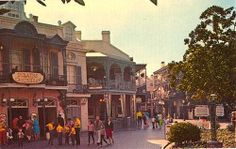The entrance to Pirates of the Caribbean as it appeared in 1967