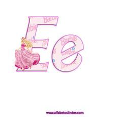 Alphabet, Baby Birthday Card, Barbie Party, Barbie Dolls, Gifts For Kids, Letters, Crafts, Template, Party Ideas