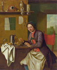 """""""Portrait of a Host"""" by Peter Jakob Horemans (1765)"""
