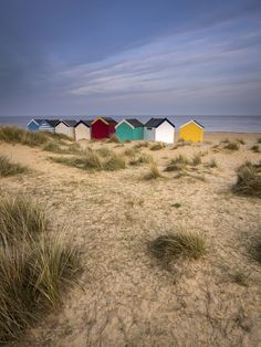 Just had to spend the day in Southwold. One of our favourite towns and beach). Seaside Theme, Seaside Beach, Beach Huts Art, Norfolk Beach, Ocean Shores, Beach Scenes, Landscape Photos, The Great Outdoors, Places To See