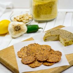 This Raw Vegan Jalapeno Cashew Cheese is a great replacement for cheese and crackers and tastes great on pizza, nachos, and more!